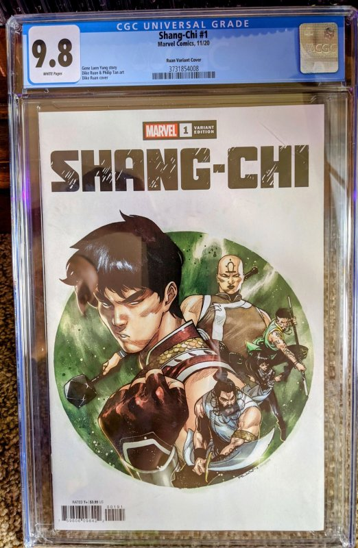 Shang Chi #1 Ruan Variant CGC 9.8