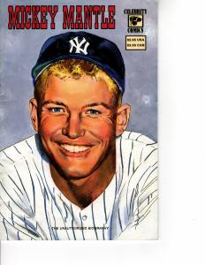 CELEBRITY COMICS Mickey Mantle #1 (1992 Series) NOV 1992 VF-