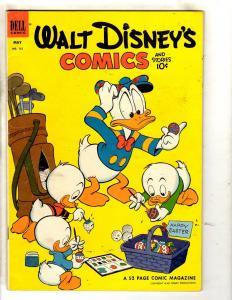 Walt Disney's Comics & Stories # 152 VF- Dell Silver Age Comic Book JL19