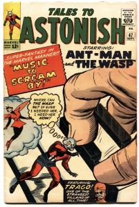 TALES TO ASTONISH #47 1963-ANT MAN-WASP-DITKO-HECK-FOX!