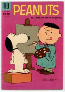 Four Color #1015 (Dell) VG/FN 5.0  Peanuts (#3)