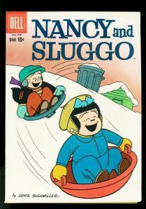 Nancy and Sluggo #174 1960- PEANUTS- Dell Comics0 VF