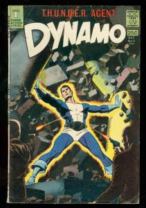 DYNAMO COMICS #2 1966-WALLY WOOD SCI-FI COVER & ART VG