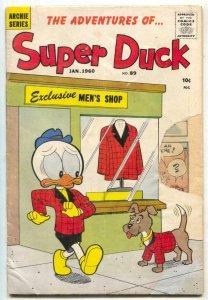 Super Duck #89 1959- Archie comics- HUMOR G