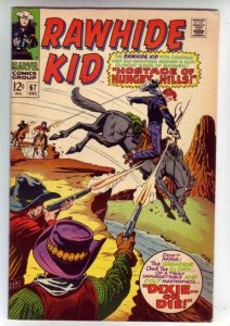 Rawhide Kid 67 strict VF+ 8.5 High-Grade  100s of Marvel Westerns up for grabs