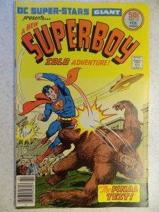 DC SUPER-STARS # 12 SUPERBOY BRONZE ACTION ADVENTURE