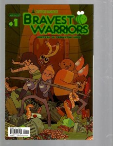 12 Comics Bravest Warriors #1 2 Adventure Time 13 14 15 16 + ANN 1 and more J446