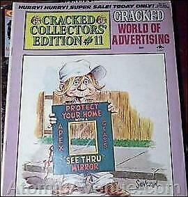 Cracked Collectors' Edition #11 VG; Globe | low grade comic - save on shipping -