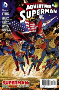 ADVENTURES OF SUPERMAN (2013 DC) #16 NM- A69500