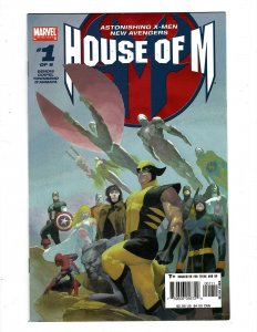 House Of M Complete Marvel Comics Limited Series # 1 2 3 4 5 6 7 8 Avengers SM19