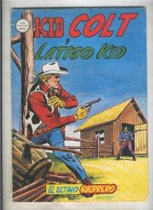 Kid Colt numero 06: El ultimo guerrero (numerado 3 en trasera)