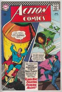 Action Comics #348 (Mar-67) VF/NM High-Grade Superman