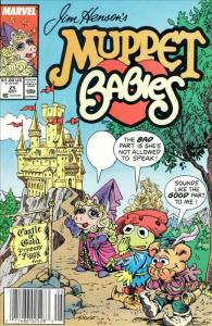 Muppet Babies (Star/Marvel) #25 (Newsstand) FN; Marvel Star | save on shipping -