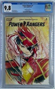 Power Rangers #1 | Peach Momoko 1:25 Ratio Variant | CGC 9.8