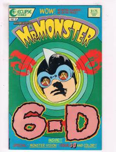 Mr Monster 6-D #10 VF Eclipse Comics Comic Book 1987 DE25