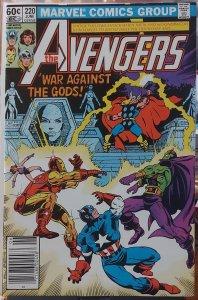 The Avengers #220 (1982)