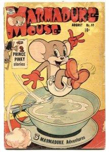 Marmaduke Mouse #40 1953- Golden Age Funny Animals G
