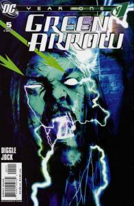 Green Arrow: Year One #5 VF/NM; DC | save on shipping - details inside