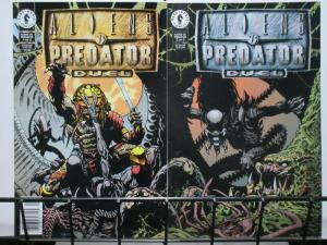 ALIENS VS PREDATOR DUEL (1995 DH) 1-2