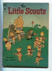 Dell Four Color 321 The Little Scouts (#1) GD/VG-