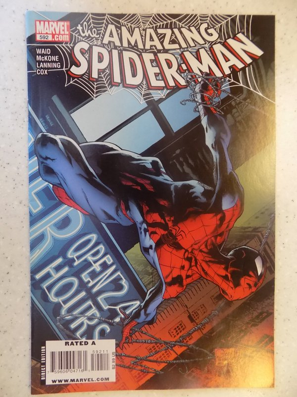 AMAZING SPIDER-MAN # 592