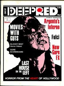 Deep Red #1 12/1987-Fantaco-horror movies-1st issue-Tobe Hooper-FN+