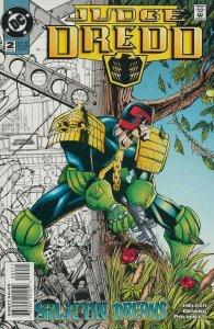 Judge Dredd (DC) #2 VF/NM; DC | save on shipping - details inside
