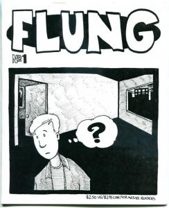 FLUNG #1 ashcan size, NM, G Fling, more Indies and ashcan / promos in store