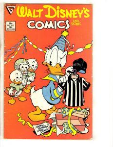 8 Walt Disney's Comics & Stories Comics # 513 548 549 553 554 559 561 562 J317
