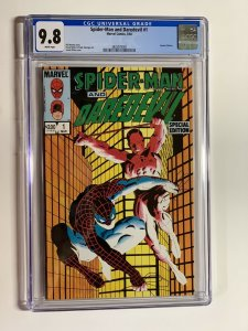 Spider-man and daredevil special 1 CGC 9.8 1984 Frank Miller Cover Art