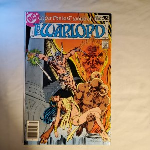 Warlord 36 Very Fine Cover by Mike Grell