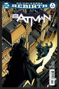 Batman #4 Rebirth (Oct 2016, DC) 0 9.0 VF/NM