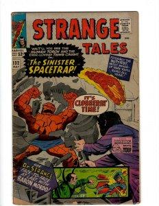 Strange Tales # 132 VG Marvel Comic Book Thing Dr. Strange Baron Mordo Torch KD1