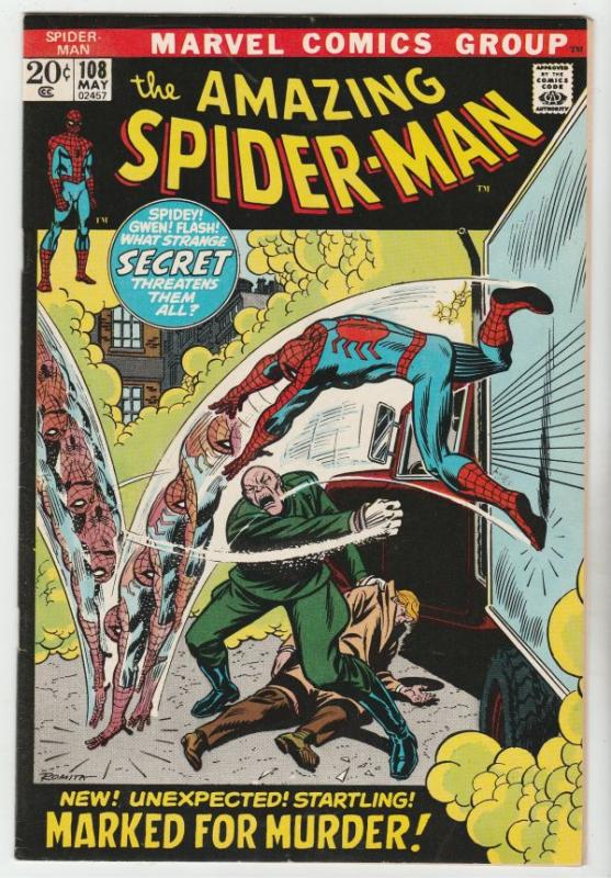 Amazing Spider-Man #108 (May-72) NM/NM- High-Grade Spider-Man