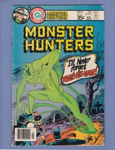 Monster Hunters #15 VG Charlton 1978