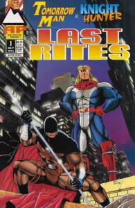 Tomorrow Man & Knight Hunter: Last Rites #1 VF/NM; Antarctic | save on shipping