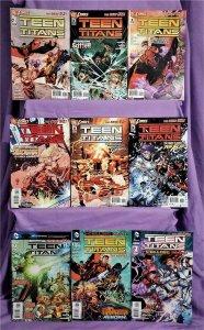 DC New 52 TEEN TITANS #1 - 8, Annual #1 Scott Lobdell Brett Booth (DC, 2011)!