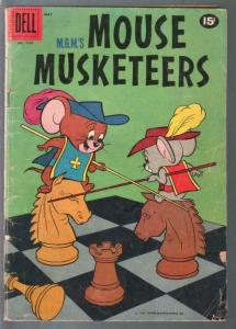 M.G.M.'s Mouse Musketeers-Four Color Comics #1175 1961-G/VG