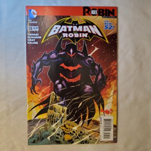Batman and Robin 35 Very Fine/Near Mint Cover by Mick Gray