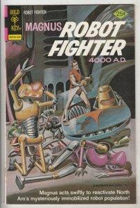 Magnus Robot Fighter #44 (Aug-76) NM- Mid-High-Grade Magnus