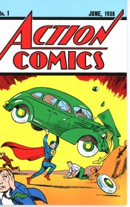 Action Comics 1 Loot Crate Reprint with COA  9.0 (our highest grade)