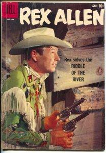 Rex Allen #31 1956-Dell-photo cover-B-Western film star-VG+
