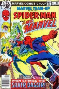 Marvel Team-Up (1972 series) #77, VF- (Stock photo)