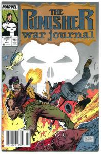 PUNISHER WAR JOURNAL #4, NM, Jim Lee, Carl Potts, 1988, more in store