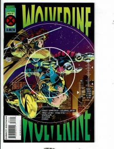 Lot Of 10 Wolverine Marvel Comic Books # 87 88 90 91 92 93 94 95 96 97 X-Men JD4