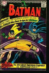 BATMAN #188-1967-DC-very good VG