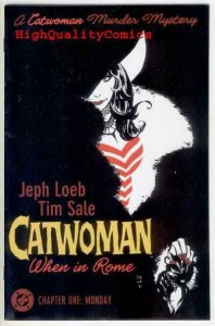 CATWOMAN : WHEN in ROME #1 2 3 4 5 6, NM, Jeph Loeb, Tim Sale, more CW in store
