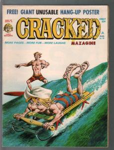 Cracked #86 1970-Major Mags-humor-parody-Surfing-John Severin-FN-