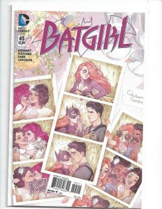 Batgirl #45 - Photobooth Cover! New 52! - NM 2015    nw110
