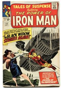 Tales Of Suspense #53 Second appearance of BLACK WIDOW 1964 FN-